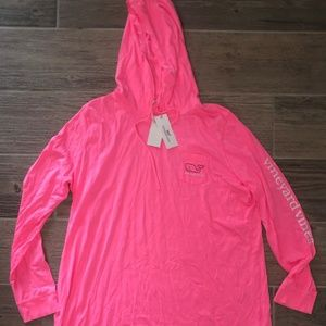 Women's Vineyard Vines Graphic Tee Cover Up NWT XL